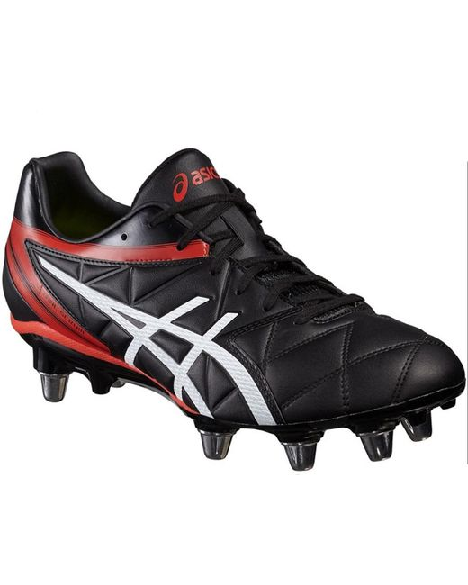 Asics Men's Red Lethal Speed St Rugby Boot