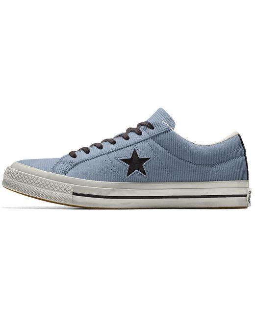 Converse Red Men's One Star Corduroy Lace-up Sneakers