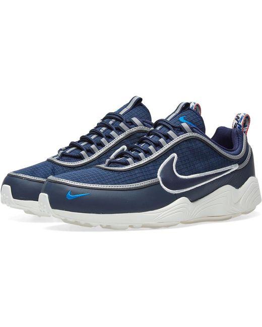 Nike Men's Blue Air Zoom Spiridon Se