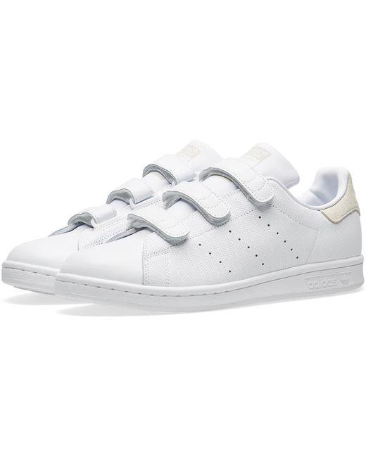 adidas Men's White Stan Smith Cf