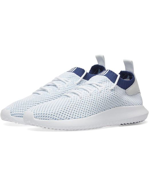 adidas Men's White Tubular Shadow Pk