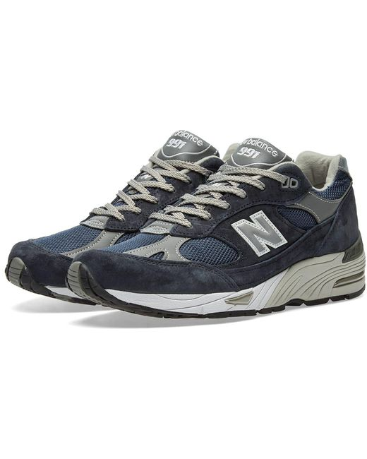 New Balance Men's Gray M991gl - Made In England