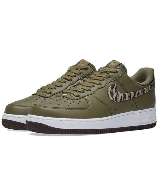 Nike Men's Air Force 1 'tiger Camo' Trainer