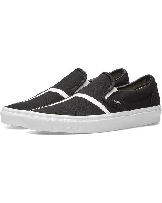 Vans Men's Black Classic Slip On 98 Dx
