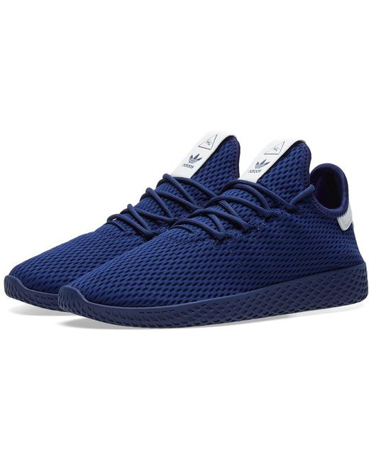 adidas Men's Gray Pharrell Williams Tennis Hu