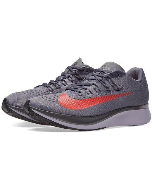 Nike Men's White Zoom Fly Mesh Trainers