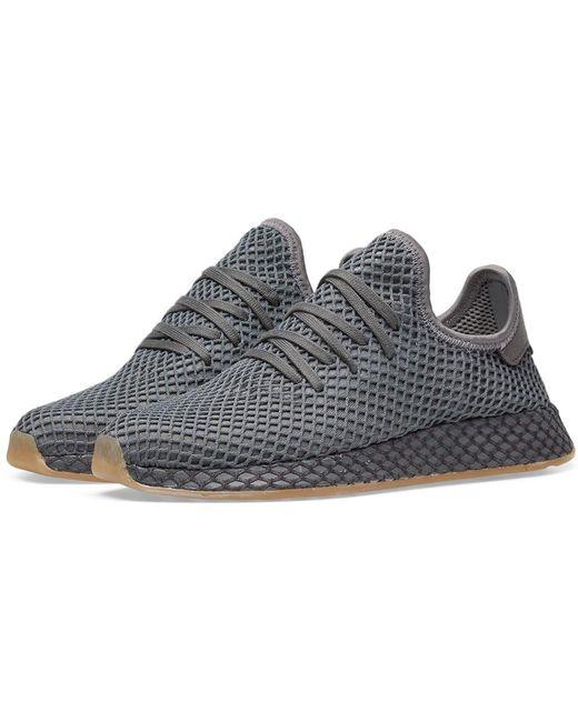 adidas Men's Gray Deerupt Runner