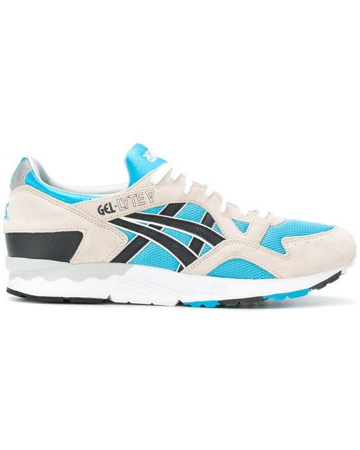 Asics Men's Blue Gel-lyte V Sneakers