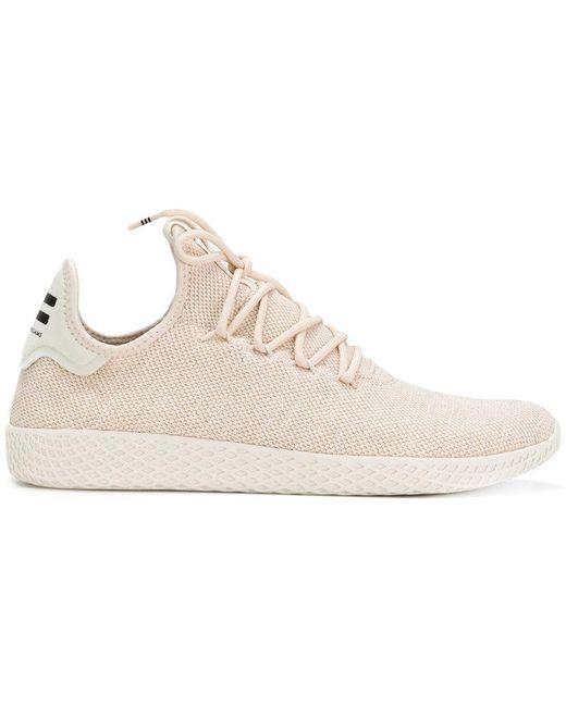 adidas Originals Men's Gray Tennis Hu Sneakers