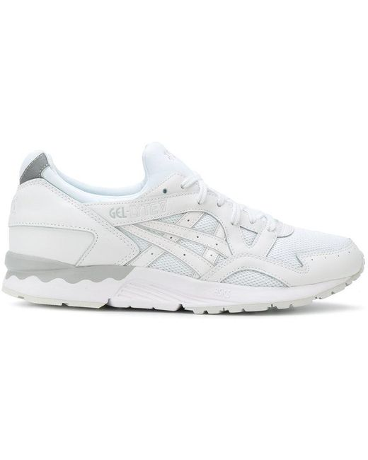 Asics Men's White Gel Lyte V Sneakers