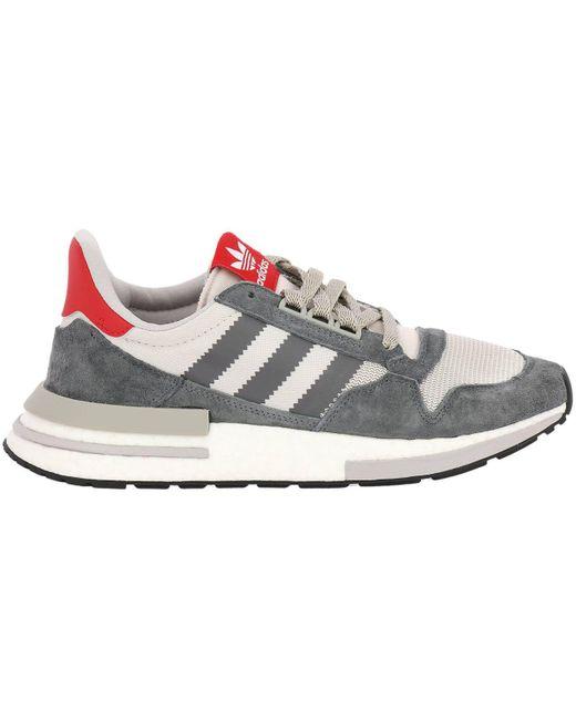 adidas Originals Gray Sneakers Shoes Men