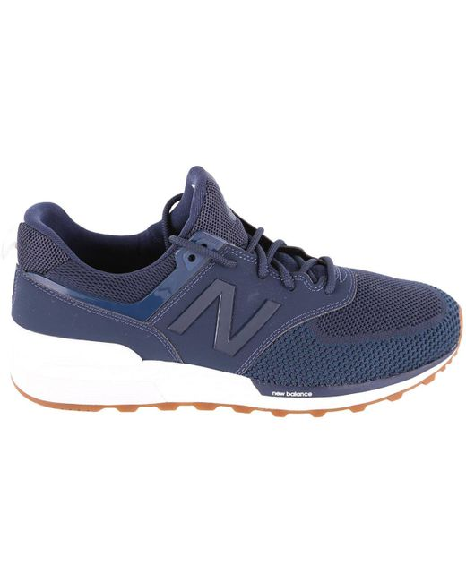 New Balance Blue Sneakers Men