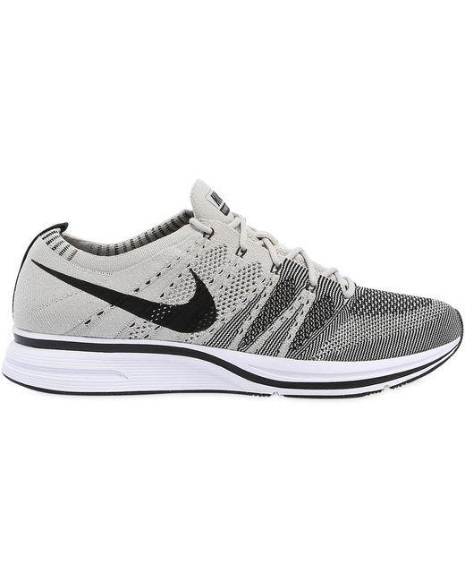 Nike Men's Black Streak Flyknit Sneakers