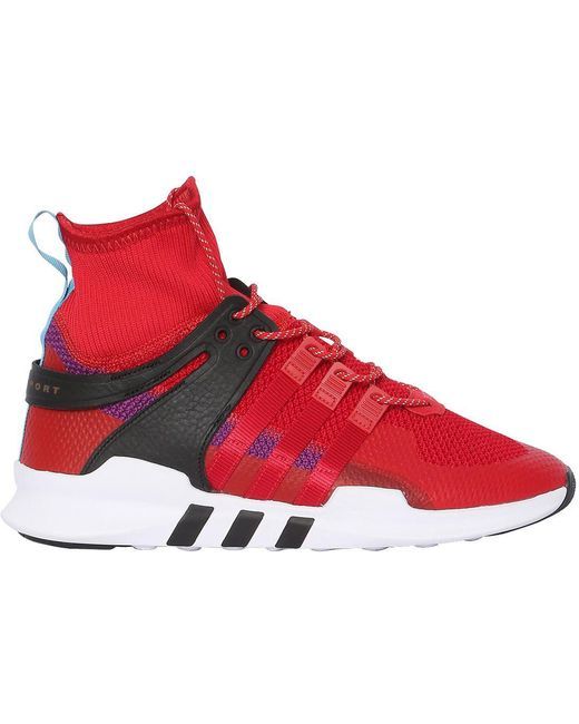 adidas Originals Men's Gray Eqt Support Adv Sneakers
