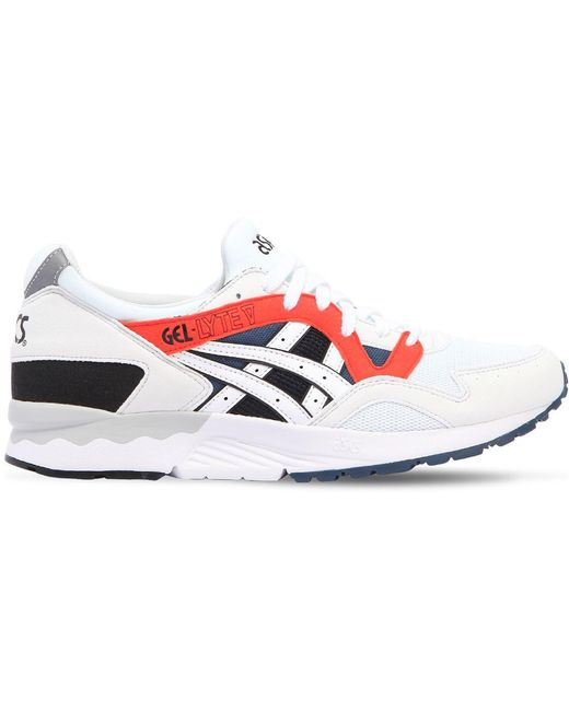 Asics Men's Gel Lyte Leather & Mesh Sneakers