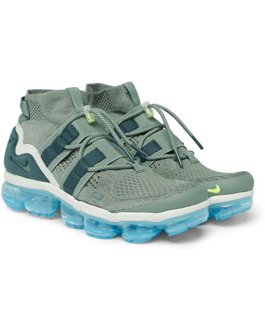 Nike Men's Vapormax Flyknit Utility Sneakers
