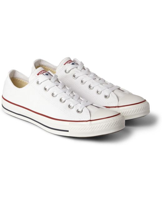Converse Men's White 1970s Chuck Taylor All Star Canvas Sneakers