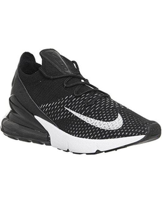 Nike Men's Black Air Max 270 F