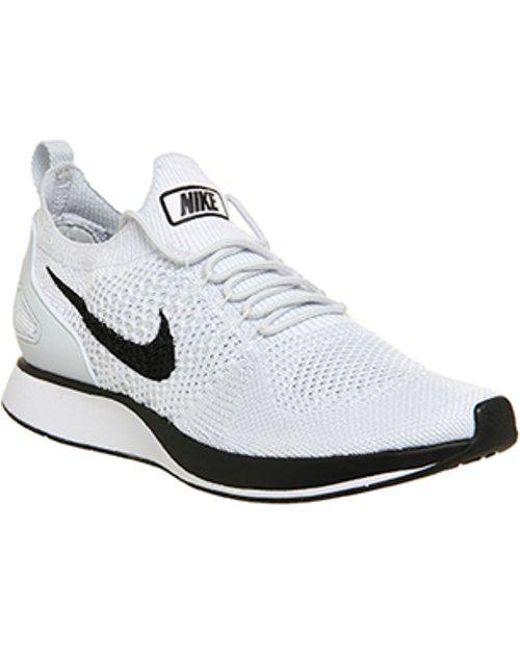 Nike Men's Gray Air Zoom Mariah Fk Racer F