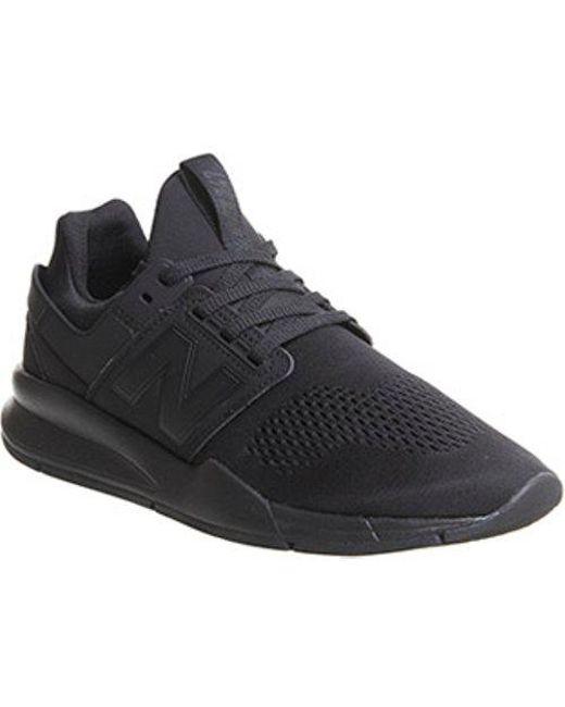 New Balance Men's Black 247v2