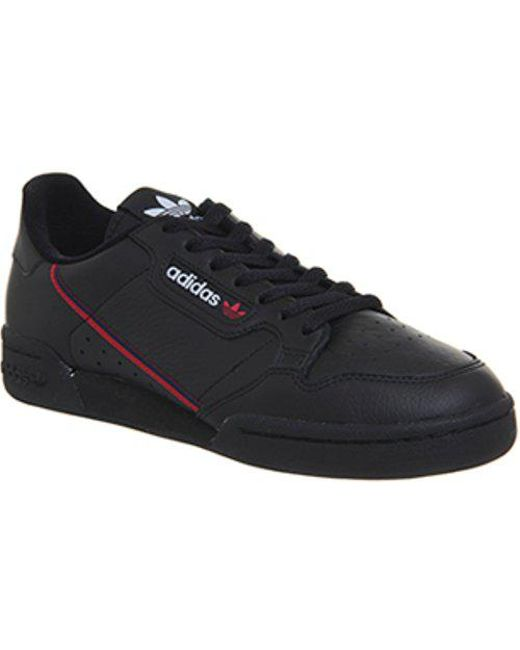 adidas Men's Black Continental 80