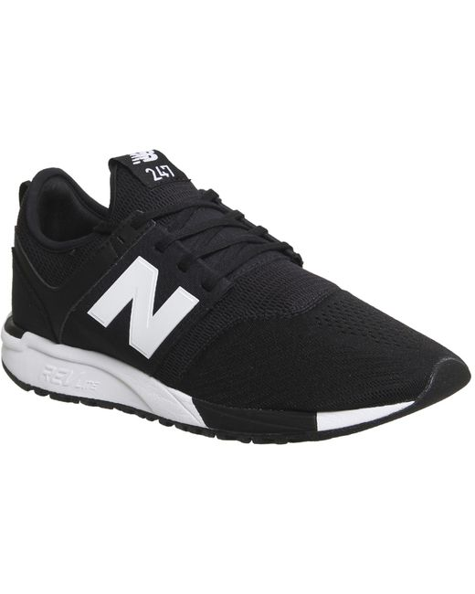 New Balance Men's Black 247 Trainers