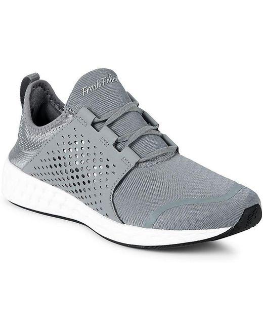 New Balance Men's Gray Cruz Sport Low-top Sneakers