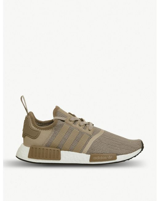 adidas Men's Green Nmd R1 Primeknit Trainers