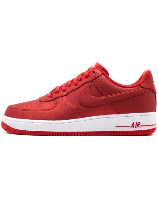 Nike Men's Red Air Force 1 '07 Lv8
