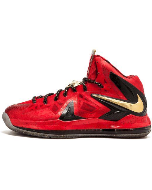 Nike Men's Red Lebron 8 V/2 Low