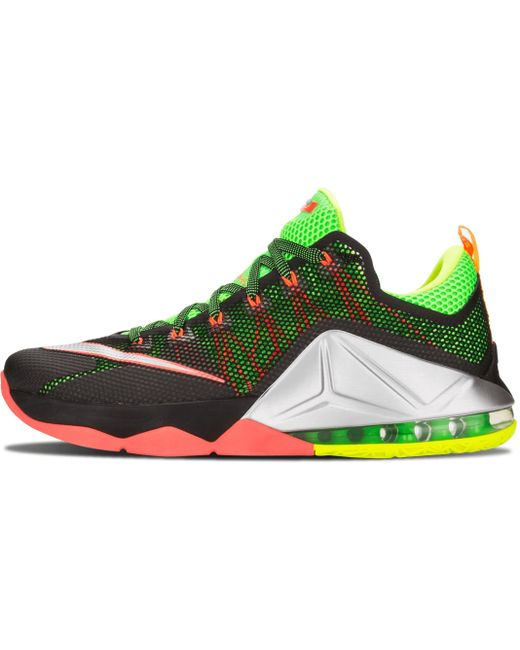 Nike Men's Green Lebron Xi