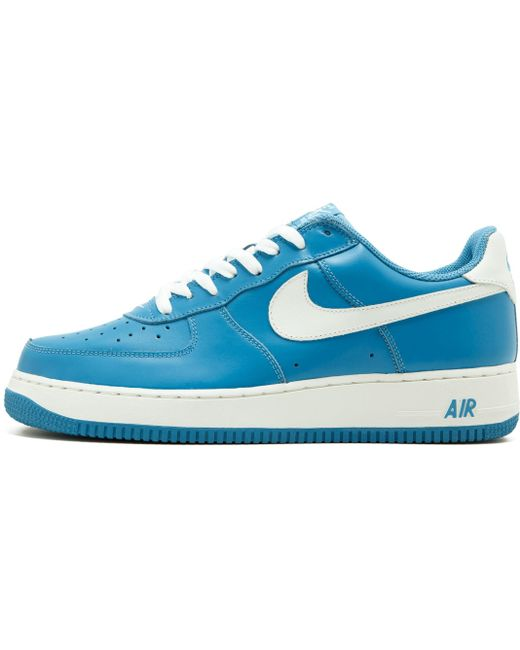 Nike Men's Blue Air Force 1 '07 Lv8