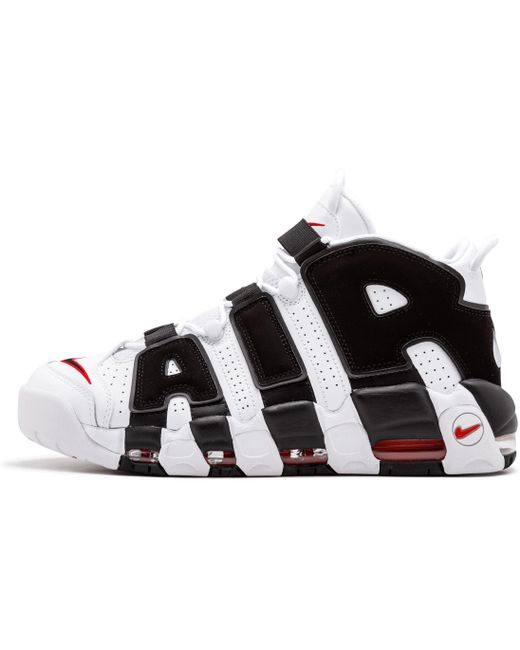 Nike Men's Green Air More Uptempo Sneakers