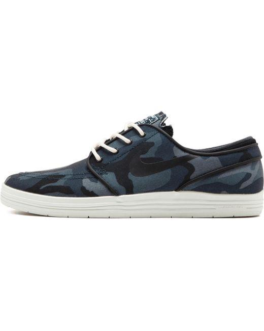 Nike Men's Blue Stefan Janoski Nb Bg
