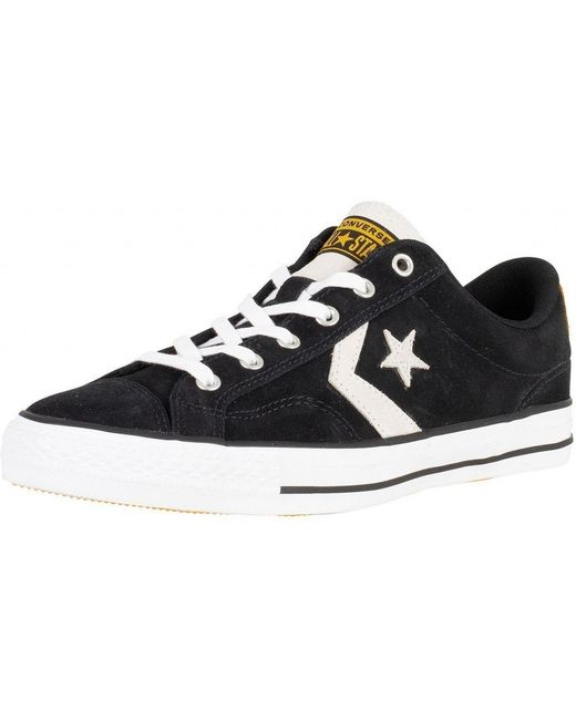 Converse Men's Black/white/white One Star Ox Suede Trainers