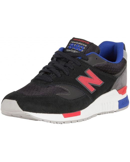 New Balance Mens Black / Magnet 840 Trainers