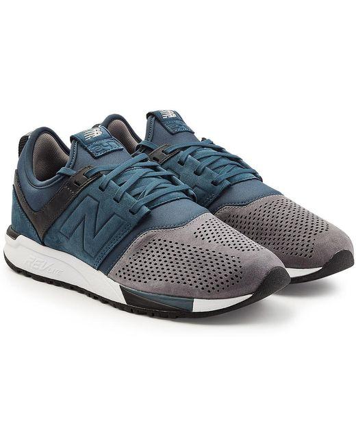 New Balance Men's Blue Mrl247 Sport D Sneakers