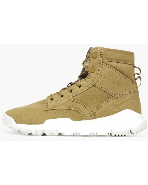 "Nike Men's Sfb Field 6"" Cargo Khaki Boot 844577 300"