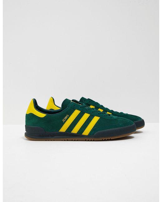 adidas Originals Mens Jeans Green