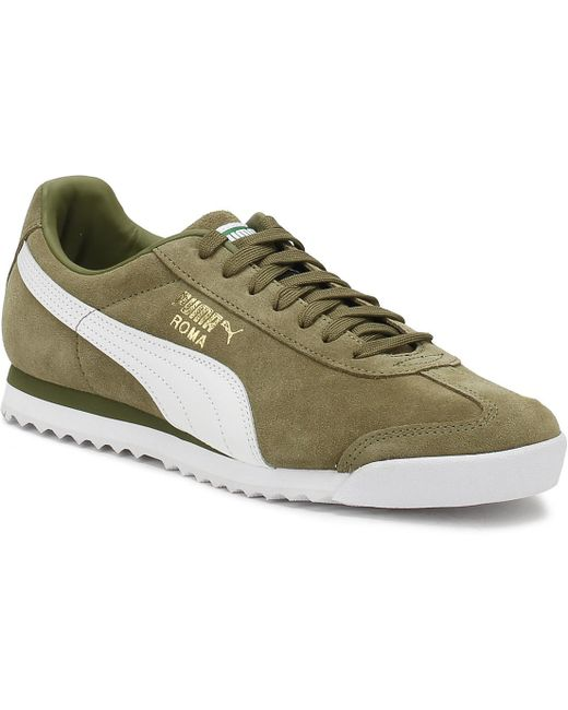PUMA Men's White Roma Og Natural