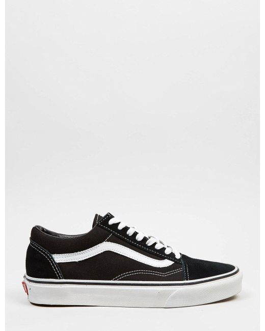 Vans Men's Black Old Skool (canvas)