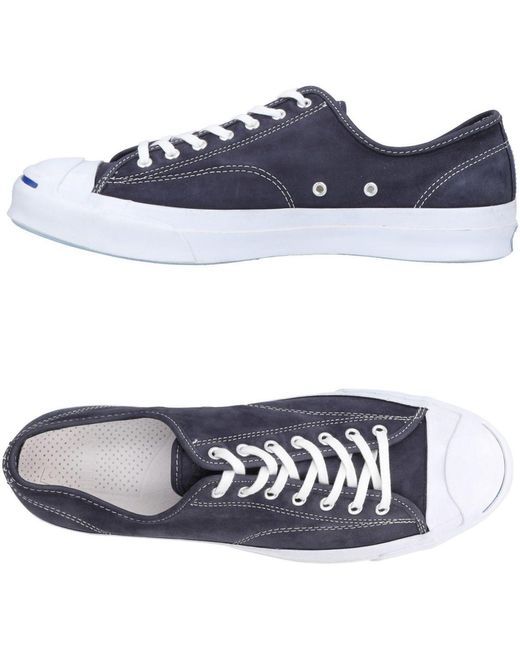 Converse Men's Blue Low-tops & Sneakers