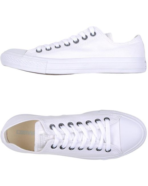 Converse Men's Blue Low-tops & Sneakers