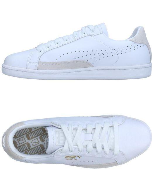 PUMA Men's White High-tops & Sneakers
