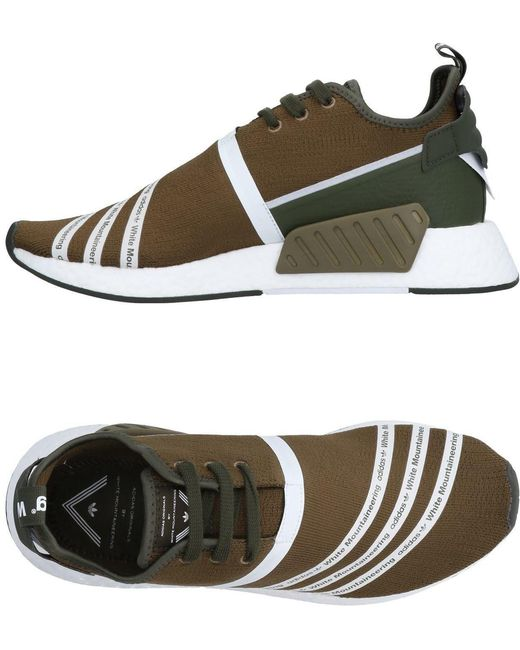 adidas Originals Men's Orange Low-tops & Sneakers