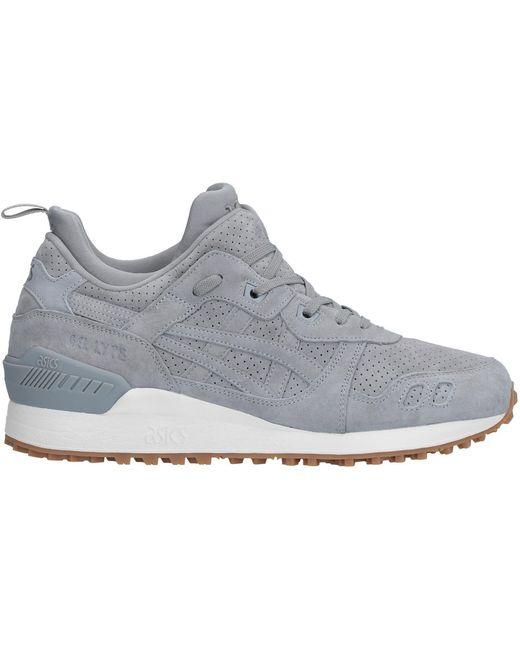 Asics Men's Gray Low-tops & Sneakers