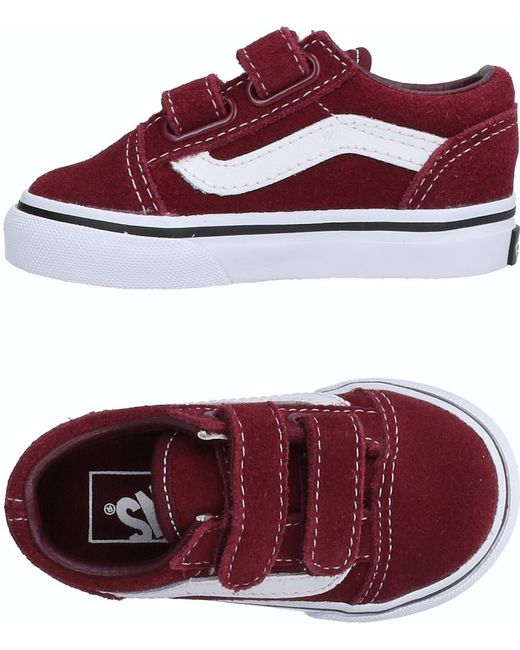 Vans Men's Red Low-tops & Sneakers