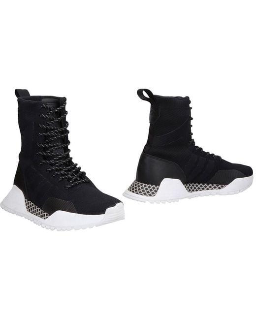 adidas Originals Men's Black High-tops & Sneakers