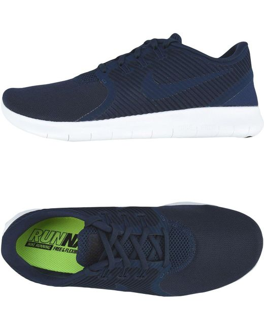 Nike Men's Blue Low-tops & Sneakers
