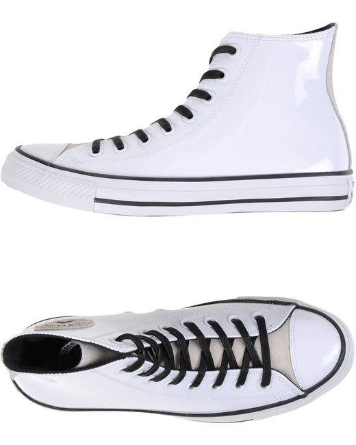 Converse Men's White High-tops & Sneakers